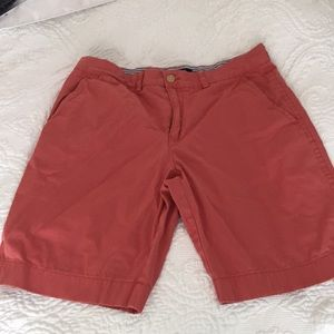 Tommy Hilfiger salmon colored shorts